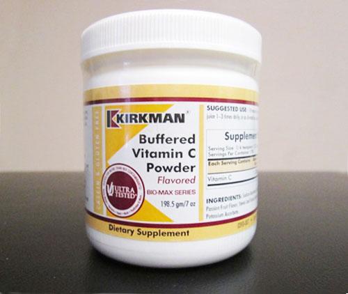 Kirkman Buffered Vitamin C Powder