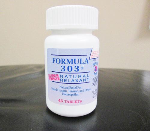 Formula 303 Natural Relaxant