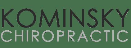 Kominsky Chiropractic mobile logo