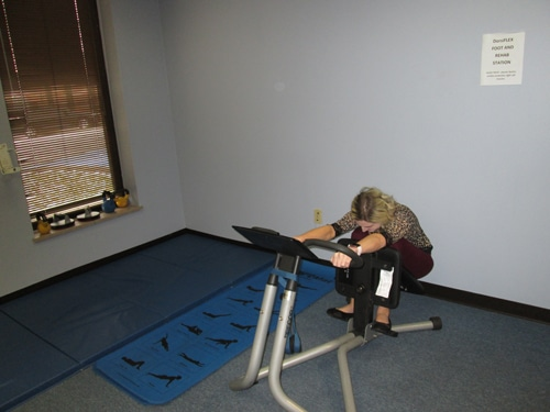 precore stretching machine